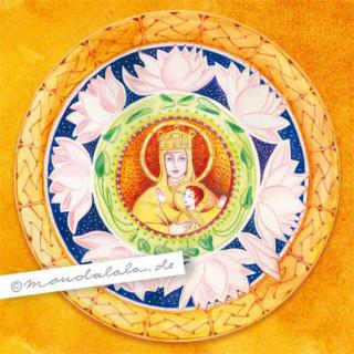 """""""Maria und Jesus"""" Mandala"""