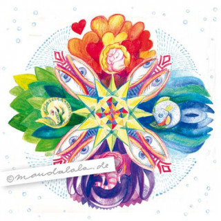 """4 Elemente"" Mandala"