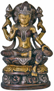 Lakshmi Murti ~ 20 cm, Messing