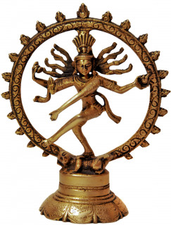 Shiva Nataraj Murti ~ 20 cm, Messing
