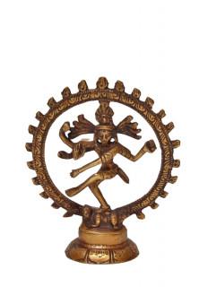 Shiva Nataraj Murti ~ 10 cm, Messing