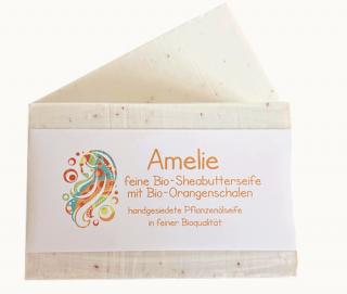 Rosenrot Amelie-Pflanzölseife, Bio, 110 g
