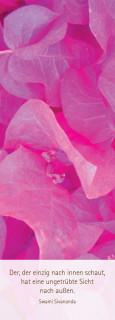 """Lesezeichen """"floral in rosa"""""""