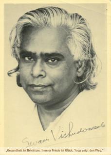 """Postkarte """"Swami Vishnu"""""""