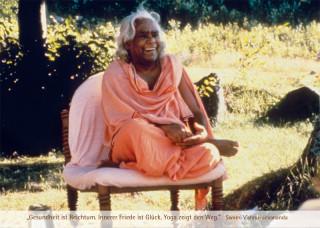 "Postkarte ""Swami Vishnu lacht"""