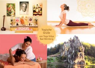 "Postkarte ""Yoga Vidya Bad Meinberg 1"""