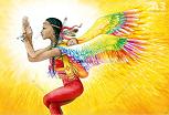 Shakti Poster A3: Child of the sun
