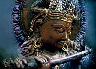 """Postkarte """"Krishna Murti"""""""