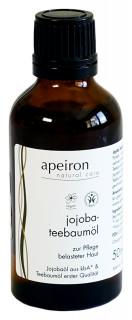 Apeiron Jojoba-Teebaum-Öl 100ml