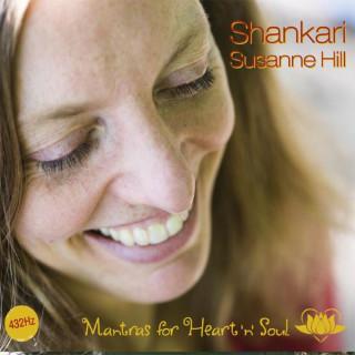 CD Mantras for Heart and Soul von Shankari Susanne Hill