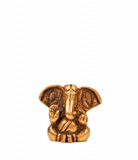 Ganesha Murti ~ 3 cm, Messing