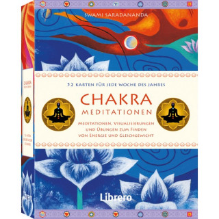 Kartenset: Chakra Meditationen von Swami Saradananda