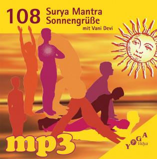 mp3 108 Surya Mantra Sonnengrüße mit Vani Devi