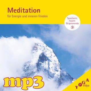 mp3 Geführte Meditation für Energie und inneren Frieden