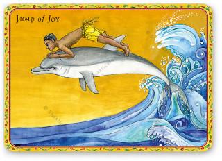 """Shakticard """"Jump of Joy"""""""