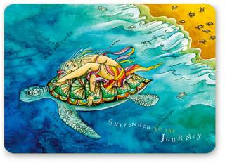 "Shakticard ""Surrender to the Journey"""