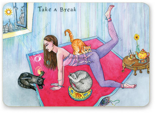 "Shakticard ""Take a Break"""