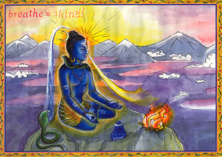 "Shakticard ""Breathe 'n shine!"""