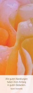 """Lesezeichen """"floral in gelb"""""""