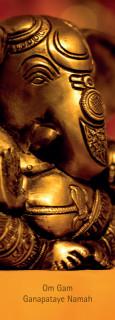 """Lesezeichen """"Ganesha"""""""