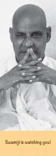 "Lesezeichen ""Swamiji is watching you!"""