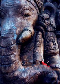 """Postkarte """"Ganesha"""""""
