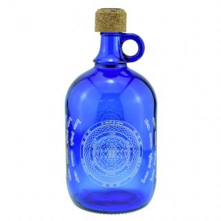 2-Liter Devi Water Henkelflasche mit Shri Yantra