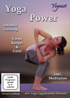 DVD Yoga Power mit Inga Stendel
