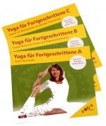 CD 3er Set Yoga für Fortgeschrittene A+B+C