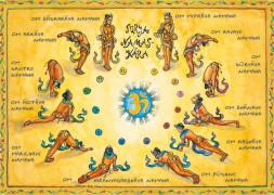 """Shakticard """"Surya Namaskar"""""""