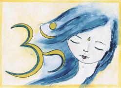 """Kunstkarte """"Inner Peace"""""""