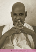 Poster: Swamiji is watching you