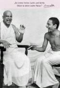 """Postkarte """"Swami Sivananda beim Lachwettbewerb"""""""