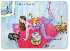 """Shakticard """"Take a Break"""""""