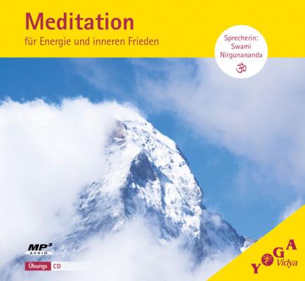 CD Geführte Meditation: Für Energie und inneren Frieden