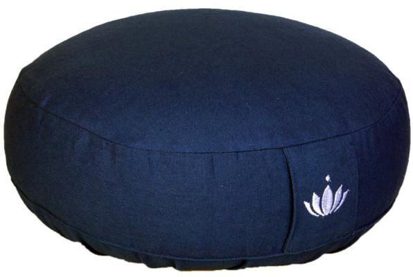 """Meditationskissen """"Lotus"""" blau"""