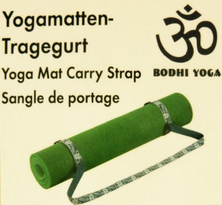 Yogamatten Tragegurt grün