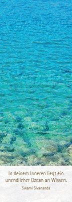 """Lesezeichen """"Ozean"""""""