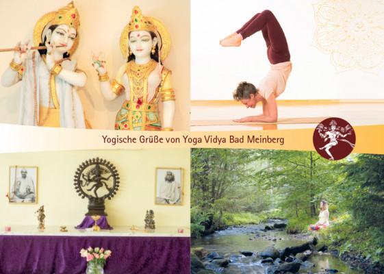 "Postkarte ""Yoga Vidya Bad Meinberg 2"""