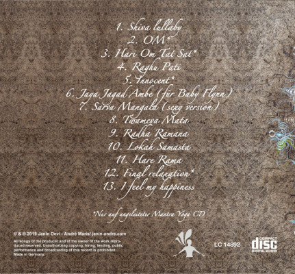 CD Janin Devi & André Maris: Bhaktiprayers 2 (Doppel-CD)
