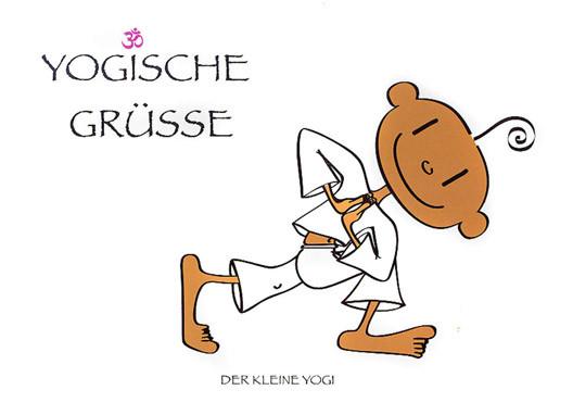 Der kleine Yogi - Yogische Grüsse