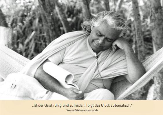 """Postkarte """"Swami Vishnu in der Hängematte"""""""