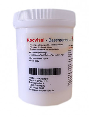 Rocvital Basenpulver nach Christine Peter ~ 300g