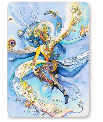 """Shakticard """"Cosmic Dance"""""""