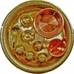 Puja-Set / 11 teilig aus Messing und Kupfer