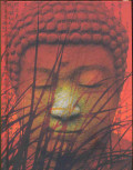 Blankbook Kopf des Buddha