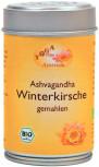 Ashwagandha (Winterkirsche-Pulver) Dose, bio 50g, gemahlen