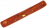 Räucherstäbchenhalter aus Holz, 25 cm lang
