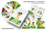 Yoga spielend lernen mit Ananda von Sybille Niemz