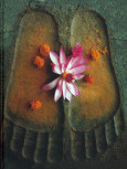 """Blankbook """"Buddhas Fußspuren"""""""